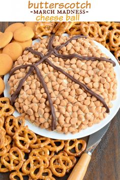 Looking for Fast & Easy Appetizer Recipes, Cheese Recipes, March Madness! Recipechart has over free recipes for you to browse. Find more recipes like Butterscotch Cheese Ball. Cheese Ball Recipes, Appetizer Recipes, Appetizers, Dessert Dips, Dessert Recipes, Snacks Recipes, Candy Recipes, Delicious Desserts, Yummy Food