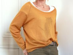 Le sweat loose - Free pattern