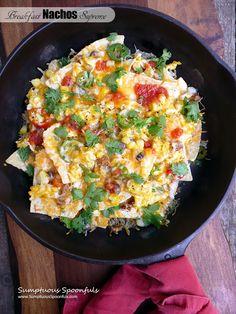 Breakfast Nachos Supreme - Food recipes