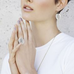 JOIDART.COM Buganvilia collection by Sara Domènech. #joidart #barcelona #buganvilia #earrings #ring #jewellery #jewellerymakers #aw15 #marinatruecollection #onlineshop #jewelleryonlineshop #jewelry
