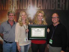 Miranda Lambert is a Green Bay Packers stock holder!