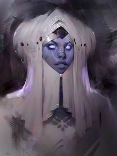 Evening Sketch by Aaron Griffin on ArtStation.