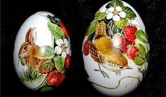 Decoupaged Eggs.