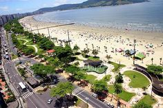 Santos (SP) - Brasil - Seaside town with great historical tourism