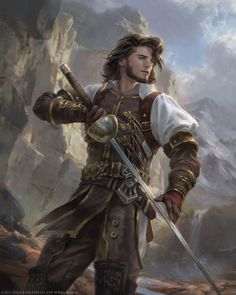 A fantasy inspiration, character inspiration, fantasy art male, high fantasy, fantasy rpg Fantasy Male, Fantasy Warrior, Fantasy Rpg, Fantasy Artwork, Elf Warrior, Woman Warrior, High Fantasy, Dungeons And Dragons Characters, D D Characters