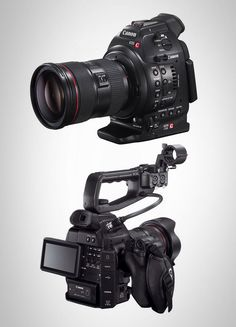 Outgrown your 5D Mark II(I), but not quite ready to shell out $16 large for the Canon C300? Leave no story untold with the Canon EOS C100 ($7999), bringing together the renowned technology of Canon CMOS sensors, DIGIC DV III Image Processor, and EF lens compatibility in a smaller, lighter body. Modular and compatible with a host of Canon and third-party accessories, the EOS C100 brings true cinema quality to independent event videographers and video production organizations.