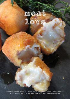 meat love | novedades en nuestra carta: croquetas cremosas de jamón ibérico ¡déjate sorprender por su sabor, textura…!