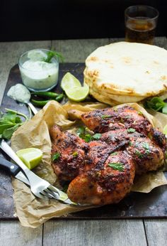 This quick roast tandoori chicken recipe is a boost of flavours with no marinades and no wait times. Quick, easy and absolutely satisfying tandoori chicken!