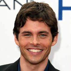 James Marsden. I loved him in 27 Dresses, he plays an awesome Prince Edward in Enchanted and in he plays the Easter Bunny in Hop.