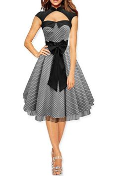 Black Butterfly 'Athena' Polka Dot Large Bow Dress (Silver, US 4) Black Butterfly Clothing http://www.amazon.com/dp/B00X81P1GG/ref=cm_sw_r_pi_dp_sfxMwb007R0RJ