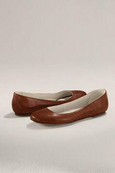 Lands' End Women's Mackenzie Plaintoe Ballet Flat  $ 68.00