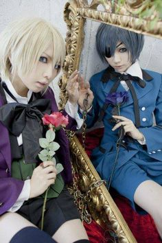 Alois Trancy and Ciel Phantomhive (Black Butler) Cosplay