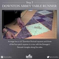 Downton Abbey Fabric Project