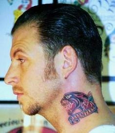 xmalicious:    Mike Ness' neck tattoo by the late Eric Maaske (1969 - 2004)