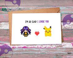 Hey, diesen tollen Etsy-Artikel fand ich bei https://www.etsy.com/de/listing/261350284/cute-pokemon-greeting-card-pikachu-ash