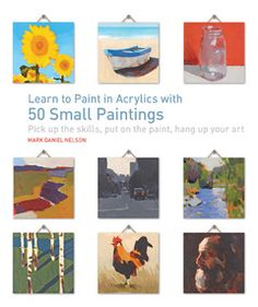 Great Things Come in Small Packages: Tiny Paintings Heather Linder | Walter Foster Blog