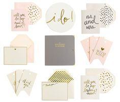 Sugar Paper for J.Crew - love at first sight! #weddings