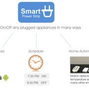 Smart Strip Power Saving Surge Protector to go green with all your devices.
