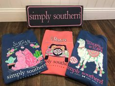 Lots of new tees from Simply Southern just arrived at both Fun in the Sun shops!  January 2018.  Chesterfield & Kirkwood, MO