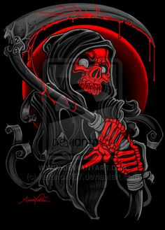 SKULL - Reaper by ~hardnox757 on deviantART