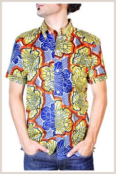 For the Fellas: Kivu shirt by Indego Africa
