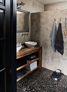 Skinny cuntertop Refined Palette of Grays in Dutch House by Designer Ineke van den Berg   Interior Design Files