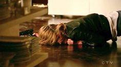 Heartbreaking. Castle Season 8, Castle Tv Series, Richard Castle, Kate Beckett, Life Happens, Stana Katic, New Girl, Favorite Tv Shows, Fangirl