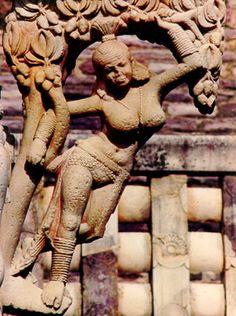 INDIA. MADHYA PRADESH. Buddhist Monuments at Sanchi.