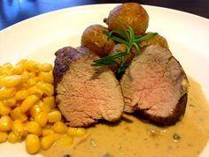 Pork tenderloin with pepper sauce - Veprova panenka s peprovou omackou