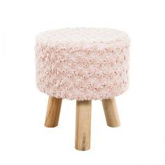 Műszőrme ülőke rózsás, rózsaszín - HIMALAYA