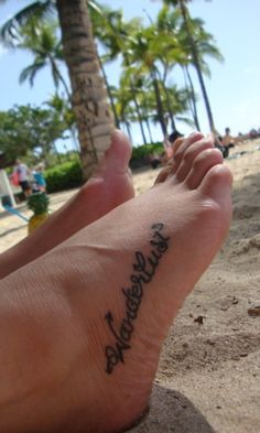 I would totally get this....if only my other foot tattoo didn't hurt WORSE THAN ANYTHING EVER IN MY LIFE  ;) LOL, no, I think I might survive this one, so I think this will be next :)
