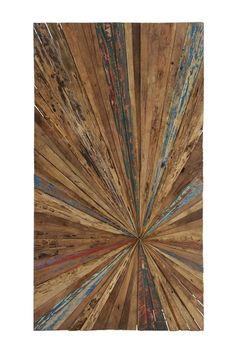 Abstract Wood Wall Art.