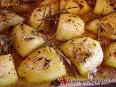 Πατάτες φούρνου αρωματικές του Jamie Oliver #sintagespareas #patatesfournou