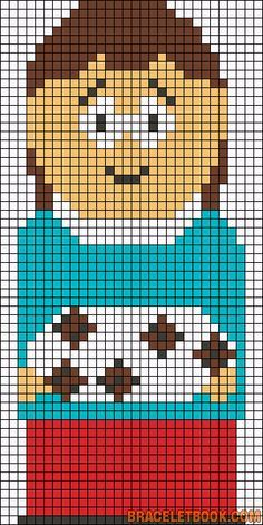 south park timmy perler - Google Search