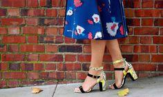 Python sandals | La Vie de Villa #fashion #streetstyle #blogger