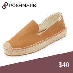 UO Soludos Leather Espadrilles Only worn once. Runs a tad small. Could fit a 6.5. Leather upper, sturdy quality, beautiful shoe. Urban Outfitters Shoes Espadrilles