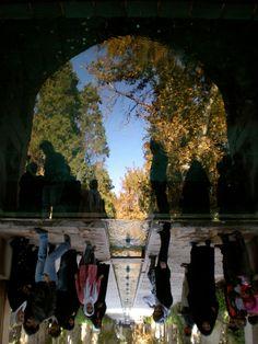 Reflection, Kashan, Iran