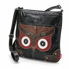 Unionbay Owl Crossbody Bag Pinned by www.myowlbarn.com