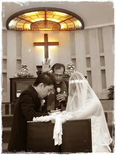 Holy Matrimony @ GKI Bromo