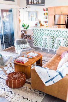 Surf Style Home, Princeville Hawaii, Surf House, Beach House, Surf Room, Airy Bedroom, Hawaii Homes, Surf Shack, Rental Decorating