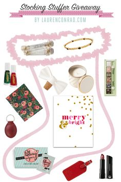 Giveaway: Win Lauren Conrad's Stocking Stuffer Picks!