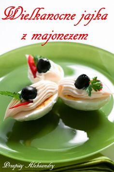Przepisy Aleksandry: WIELKANOCNE JAJKA Z MAJONEZEM (Easter eggs with mayonnaise)
