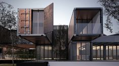 Container house contest on Behance Container Architecture, Container Buildings, Architecture Design, Container Home Designs, Shop Front Design, House Design, Hotel Centro, Container Office, Container Cabin