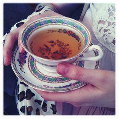 {@emmablock holding a tea cup} pretty teacup!