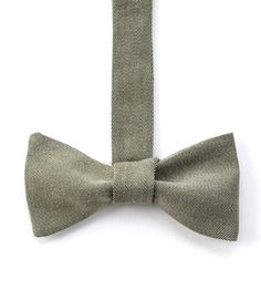 This vintage cotton bowtie is just right for a dinner party or formal evening.