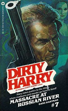 Pulp International - Collection of Dirty Harry book covers from author Dane Hartman