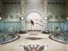 FLOATING by Kira Koroknai, via Behance