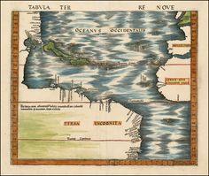 Tabula Terre Nove [The Admiral's Map] - Barry Lawrence Ruderman Antique Maps Inc.