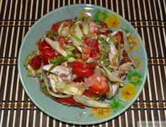 Куриный салат «Чикитита» от Daily-menu.ru, всего в 62 ккал/100 г. Красивый, диетический, вкуууусный!