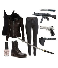 """""""Zombie Apocalypse Outfit"""" by jessgcon on Polyvore"""